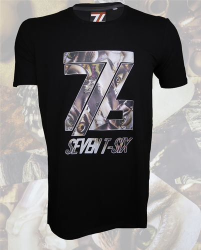 Seven T-Six Herren T-Shirt Collage Two/2