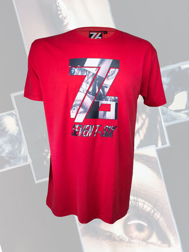 Seven T-Six Herren T-Shirt Collage Eight/8