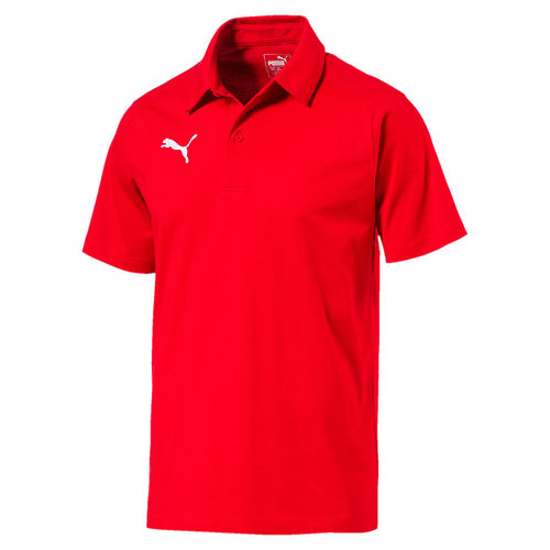 Puma Liga Casuals Polo Red 655310 01