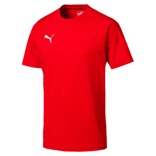 Puma Liga Casuals Tee Red 655311 01