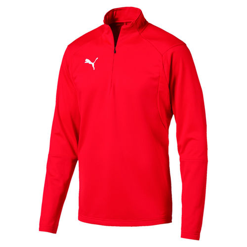 Puma LIGA 1/4 Zip-Top Sweatshirt red