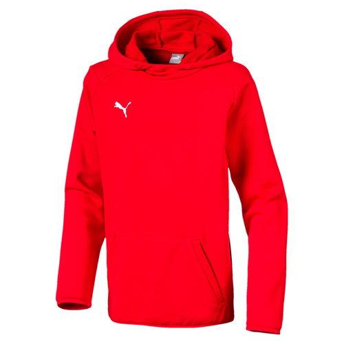 Puma Liga Casuals Hoody JR 655636 01 red