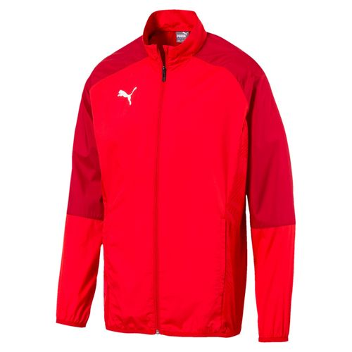 Puma Cup Sideline Woven Jacket Core Red / Chilli 656045 01