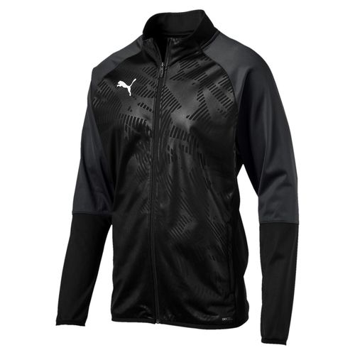 Puma Cup Poly Jacket Core Black-Asphalt 656014 03